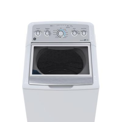 GE 5.0 Cu. Ft. Top Load Washer With Stainless Steel Basket - GTW575BMMWS